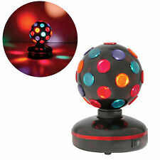 "5"" Mini Rotating DJ/Disco Ball -Spinning Light/Lighting"