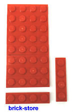 LEGO / 1x4 Plaques rot / 10-pc