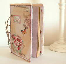 Vintage Style Notebook Scrapbook Photo Album for Personal Keepsakes & Memories