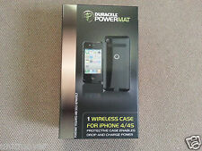 Duracell Powermat Wireless Battery Case for iPhone 4/4S - Black with USB Cable