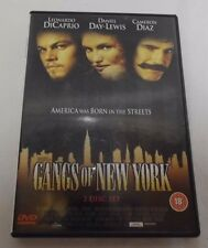 Leonardo Dicaprio Gangs Of New York 2 Disc DVD