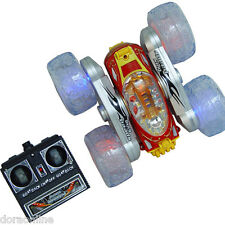 Stunt Car with Lights Invincible Twister Flash RC Remote Control Cars