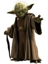 Yoda Master Jedi Star Wars Art Print poster (17x13inch) Decor 01
