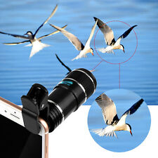 12x Optical Zoom HD Telescope Camera Lens Clip for Universal iPhone Mobile Phone