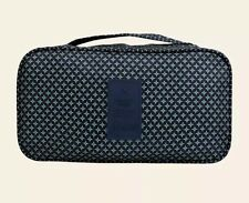 """Makeup Underwear Bra Travel Tote Organizer, w/ """"Secret Pouch"""", Delivers From NY"""
