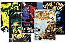 CHARLIE CHAN (SIDNEY TOLER SERIES) - SET OF 5 - A4 POSTER PRINTS # 1
