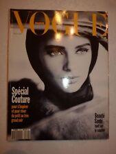 Revue mode fashion VOGUE PARIS #719 septembre 1991 special couture
