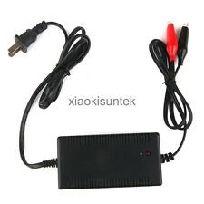 US Plug 12V 5A Lead-acid Battery Charger w/ Constant Floating Protection