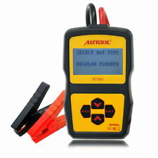 NEW AUTOOL BT-360 12V Vehicle Battery System Tester Car Charging Test Analyzer