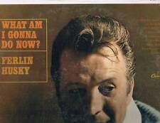 FERLIN HUSKY -What Am I Gonna Do Now?- 1967 Capitol Lp - STILL SEALED