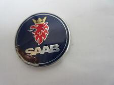 Saab Lenkrad Emblem 32 mm Durchmesser und mit 4 Halteklammern zum umbiegen