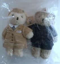 NEW Limited Edition HONG KONG MTR Techniician & Train Ambassador TEDDY BEARS