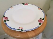 "Set of 2  Porta Ken Cornet COTTAGE ROSE Hand Painted Plates 11 1/4"" PRISTINE"