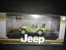 Greenlight Willy's Jeep MB 1944 US Army 1/43