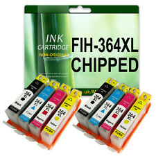 8 CHIPPED Ink Cartridge 364XL for HP Photosmart 5520 5524 6510 6520 7510 Non-OEM
