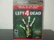 Left 4 Dead (Game of the Year Edition)  (Xbox 360, 2009) *Tested / Complete