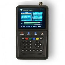 "PremiumX Digital Sat Finder PXF 1000 3,5"" LCD Display Satellite Signal DVB-S"