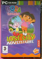 DORA THE EXPLORER LOST CITY ADVENTURE PC CD-ROM GAME brand new & sealed UK