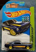 Hot Wheels 2015 FACTORY SET 1/450 SUPER TREASURE HUNT '65 MUSTANG 2+2 FASTBACK