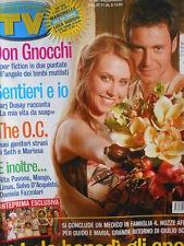 TV Sorrisi e Canzoni n°48 2004 Marj Dusay Antonello Venditti Mango [D21]