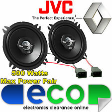 "Renault Clio MK3 JVC 13cm 5.25"" 500 Watts Pair Of Rear Door Speakers & Adapters"