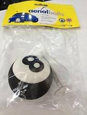 Number 8 AERIAL BALL ANTENNA TOPPER +Spring Wobbler