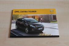 99820) Opel Zafira Prospekt 11/2011