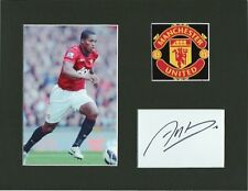 ANTONIO VALENCIA Signed 10x8 Photo Display MANCHESTER UTD & ECUADOR Legend COA
