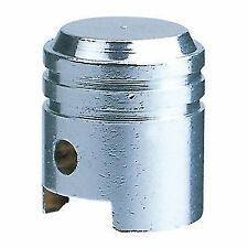 KUSTOM KAPZ CHROME PISTON VALVE CAP wheel tire stem harley car hot rod muscle fx