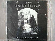 ATTRITION  -  DEATH HOUSE step inside the nightmare  LP  Hamster 018