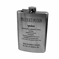 8oz Polyjuice Potion Flask- Great gift for Harry Potter fans L1