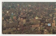 Shinbashi & Yuraku Cho Districts From Tokyo Tower Japan Old Postcard 090a