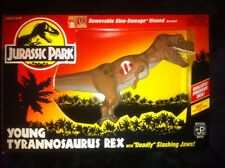 Kenner Jurassic Park Young T-Rex With Deadly Slashing Jaw NEW 1993