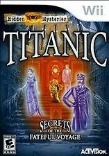 Nintendo Wii Game TITANIC: SECRETS OF THE FATEFUL VOYAGE