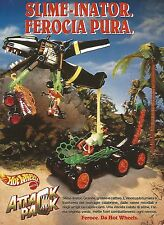 X0353 Attack Pack - Slime-Inator - Hot Wheels - Pubblicità del 1993 - Vintage ad