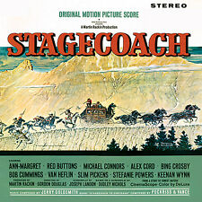 Stagecoach / Heroes Of Telemark - Complete - Limited Edition - Jerry Goldsmith