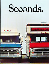 1969 1970 Ford Open Road Camper conversion Van Original Brochure Folder