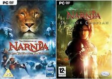 The Chronicles of Narnia The Lion, The Witch & The Wardrobe & prince caspian