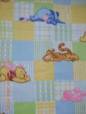 Homemade Winnie the Pooh blanket fleece (Yellow)