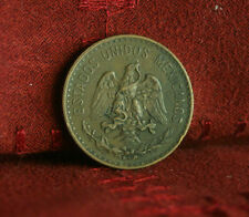 Mexico 2 Centavos 1941 Bronze World Coin KM419 Eagle Snake Wreath two cents