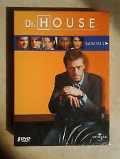 16578 // DR HOUSE SAISON 2 COFFRET 6 DVD TBE