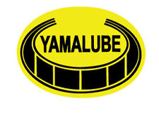 YAMAHA VINTAGE YAMALUBE DECAL GRAPHIC LIKE NOS GRAPHIC (LARGER SIZE SINGLE OVAL)