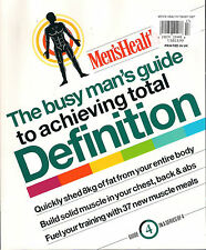 Men's Health BUSY MAN'S GUIDE to ACHIEVING TOTAL DEFINITION Weight Training Plan