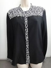 The Kooples Baby Winter Leo on CDC button front silk shirt size 4 NWT FCC1183USA
