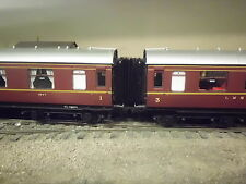 hornby LMS Coaches  bellows corridor connectors x 6 oo em p4 finescale