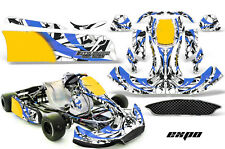 AMR Racing Graphics CRG NA2 Kart Wrap New Age Sticker Decal Kit EXPO BLUE