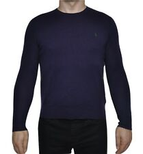 Polo Ralph Lauren Wool/Cashmere Crew Neck Sweater Pullover Purple S Nwt $125
