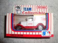 MATCHBOX TEAM COLLECTIBLE - CALIFORNIA  ANGELS FORD A VAN - TAKE A LOOK -!!