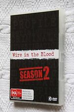 WIRE IN THE BLOOD-SEASON 2 (DVD, 4-DISC) R-4, LIKE NEW, FREE POST IN AUSTRALIA