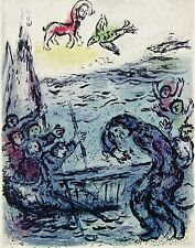 Ulysses and His Companions (The Odyessy) 1989, Ltd Ed Lithograph, Marc Chagall